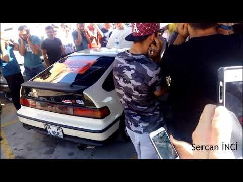 Honda Crx Exhaust Sound - Backflame