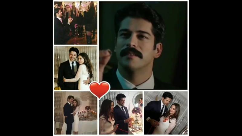"""Repost @svetlana120669 (@get_repost) ・・・ Love is all 💏💍💝 Mr and Mrs Özçivit 🔥❤ BurakÖzçivit…"""
