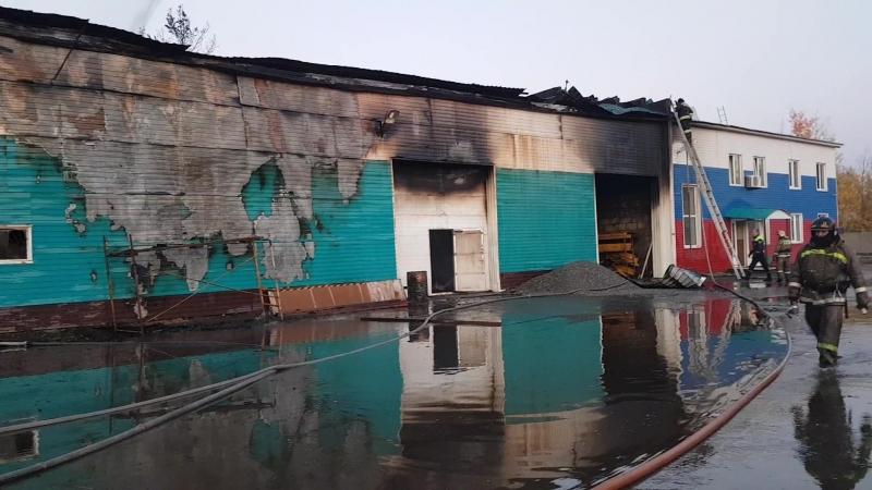 Пожар в Нягани 23.09.2018 г.