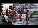 Чемпионат Европы IPL/ФЖД. Становая тяга б/э: 130 кг