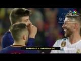 Барселон 2-2 Реал Мадрид Обнимашки после матча