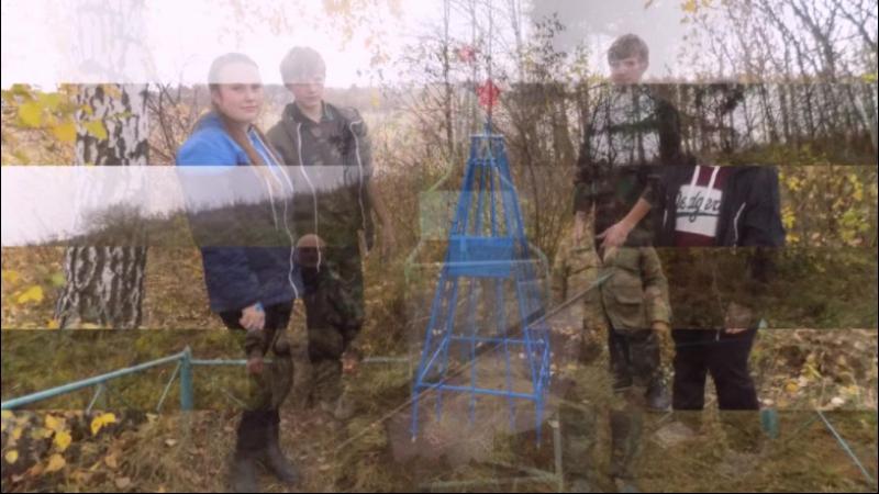 Уход за памятниками Гражданской войны с кадетами школ п. Куеда, Пермский край.