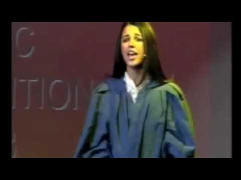 Naomi Scott - JOYFUL JOYFUL intro - Age 15 - Davenant School.