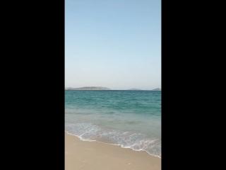 Море и красотка в красном! Хайнань