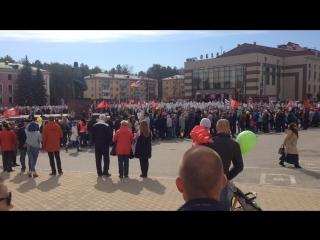 Снежинск, 9 мая: торжественный митинг на главной городской площади