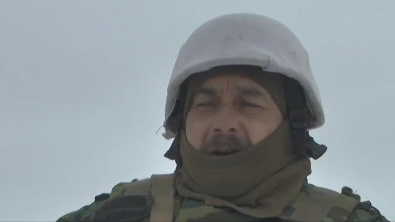 Сепор скулит снайпера ВСУ бьют точно прямо в глаз Всех сепоров родичей перебили Донбасс