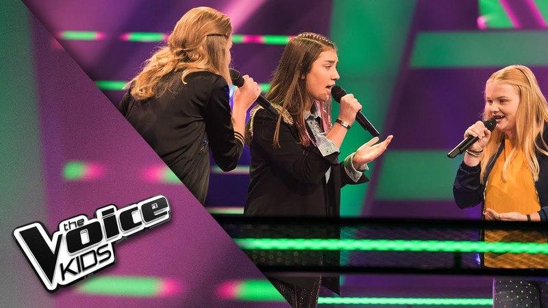 Rosalyn, Eline en Karlijn – What About Us | The Voice Kids 2018 | The Battle