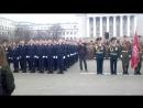 Парада в честь 73 летия Победы над фашисткой Германией проведенного на площади перед зданием Уральского федерального университе