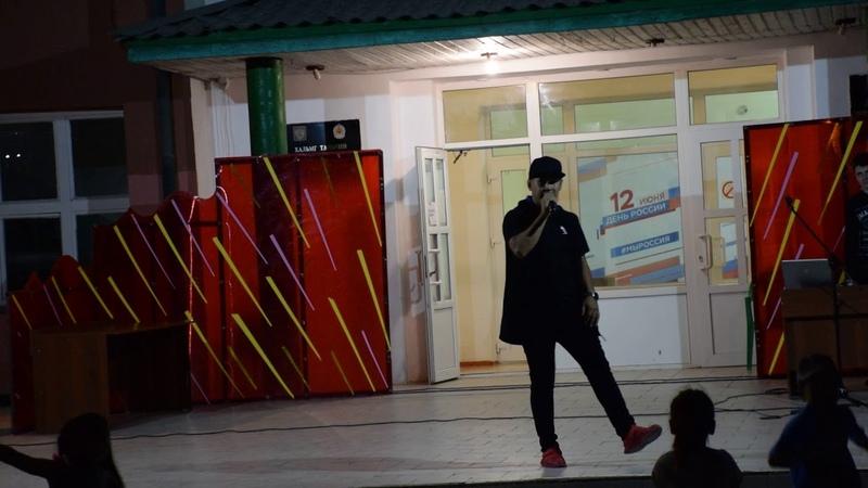 Выступление Рустама Боджаева с ведущим МС Николаем Гиляндиковым и DJ Arbat Вячеславом Гиязовым