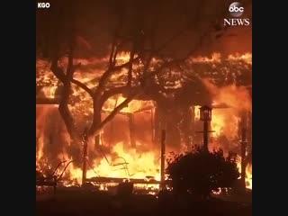 Страшный пожар в городе Парадайз (Рай)