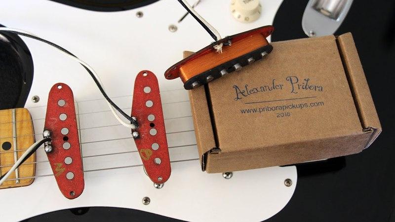 Alexander Pribora Voodoo Pickups Test Drive by Mister Lido / Демо