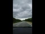по дороге с облаками. домой из Крыма.