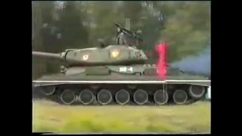 Редкое видео. ИС-4/IS-4 на ходу