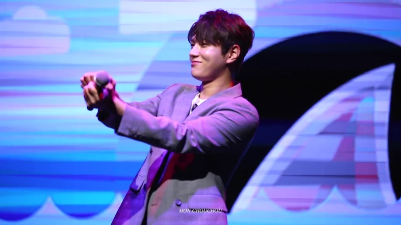 180923 kimmyungsoo 2nd fanmeeting in Taipei 아기상어