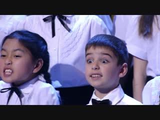 Цвет настроения синий (Детский хор «Слава Богу, ты пришел!»)