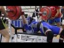 Шарипов Руслан - Жим лежа 185 кг (в/к до 93 кг)