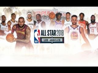 Team LeBron vs Team Stephen 18 2018 NBA All Star Game