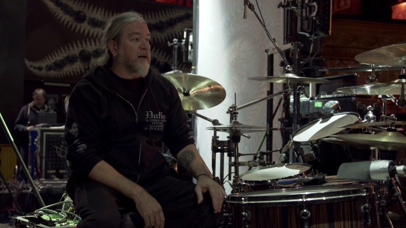 Tomas Haake tour kit 2016 rundown