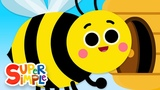 The Bees Go Buzzing Kids Songs Super Simple Songs