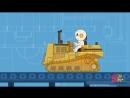 Roar, Hum, Purr! Toy Firetruck Tractors at Finleys Factory Cartoons for Kids