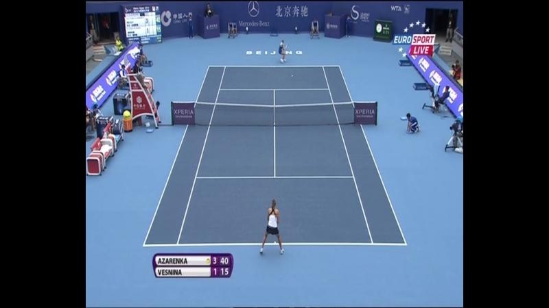 Beijing2012 R3 Azarenka Vesnina