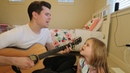 MEANT TO BE - BEBE REXHA FLORIDA GEORGIA LINE COVER - 5-YEAR-OLD CLAIRE AND DAD