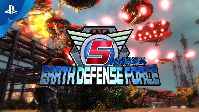 Дебютный трейлер англоязычной версии Earth Defense Force 5