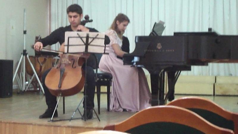 Григ. Соната для виолончели и фортепиано a - moll