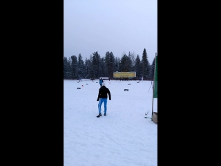Тоби Ангерер ярый фанат лыжных гонок.