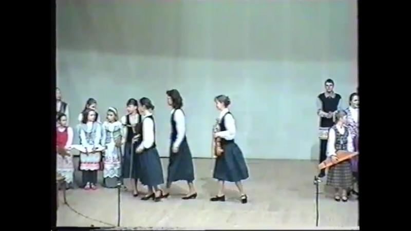 VIII ПАРАД КАНТЕЛИСТОВ 18.04.1998 г. Приветствие участников Парада.