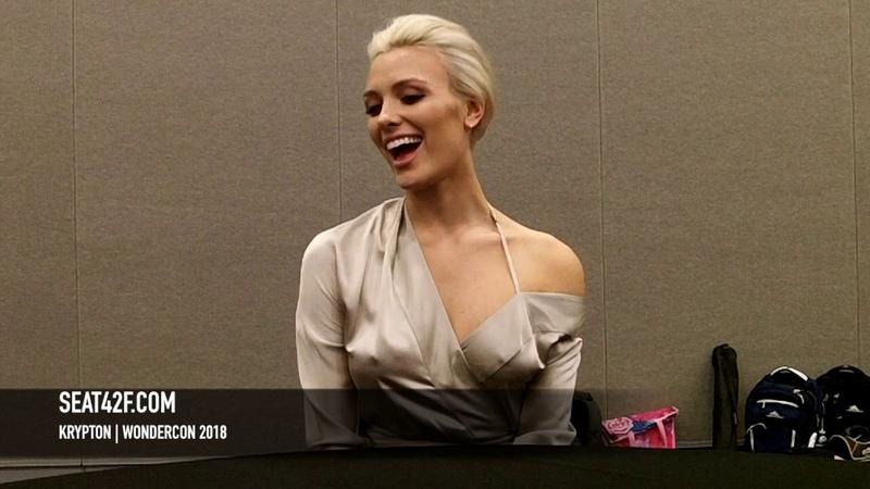 Krypton Wallis Day WonderCon 2018 Interview HD