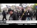 Ukraińscy neo-naziści pod ochroną policji maszerowali na cześć dywizji - SS Украинские неонацисты под охраной полиции провели ма