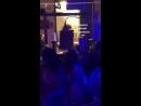 Gigi Hadid com Adriana Lima e Josephine Skriver em evento da Maybelline no NYFW hoje 8 de setembro 9