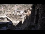 На улочках тибетской деревни