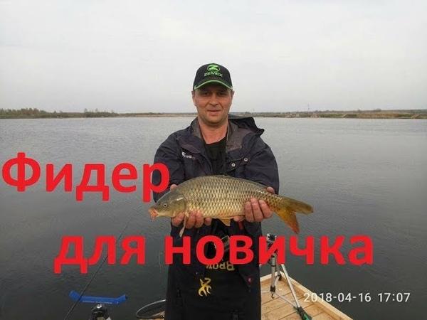 Не ожидал....фидер с пикером косят торфяное озеро...bogomaz05