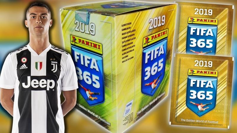 Öffne FIFA 365 2019 STICKER (20 Tüten) Unboxing [deutsch]   PANINI