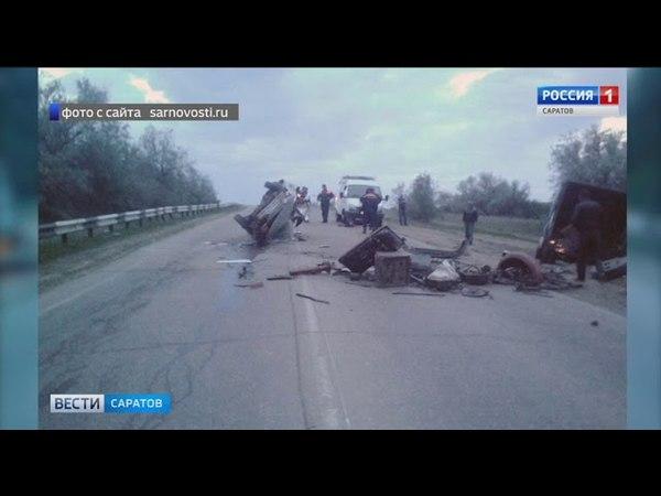 В автокатастрофе под Саратовом погибли 2 человека