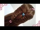 Peinados recogidos faciles para cabello largo bonitos y rapidos con trenzas para niña y fiestas7258