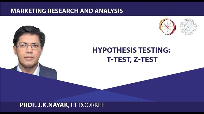 Hypothesis Testing T Test Z Test