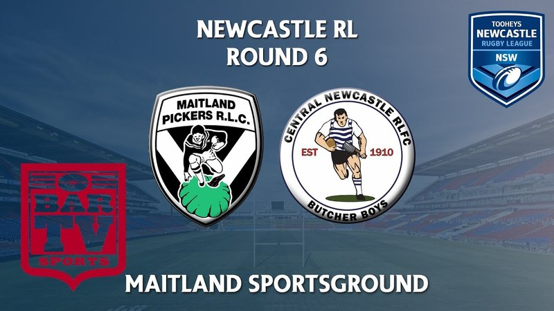 2018 Newcastle RL 1st Grade Round 6 Maitland Pumpkin Pickers v Central Newcastle Butcher Boys