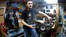 Кап Ремонт ДВС CB400 Ч6 Установка фрикционного механизма сцепления и генератора