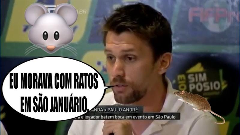 Em 2013, Paulo André já alertava sobre ratos em São Januário, Eurico Miranda desmentia