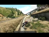 AWESOME GTA 5 STUNTS смешные моменты