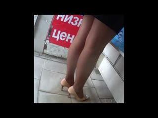 # 46 Legs in Nylon Pantyhose, Ноги в колготках из нейлона