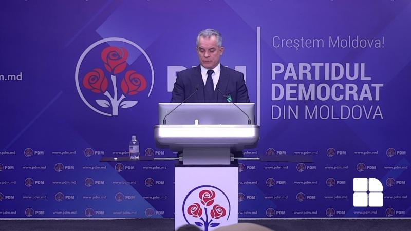 Vlad Plahotniuc Propunem sa fie un singur candidat pentru alegerile locale în Chișinău