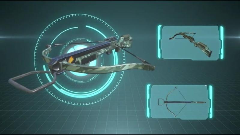 Новое оружие в Rules Of Survial! Арбалет, стрельба с баллистикой!