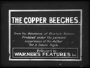 THE COPPER BEECHES Silent 1912 Georges Treville as Sherlock Holmes