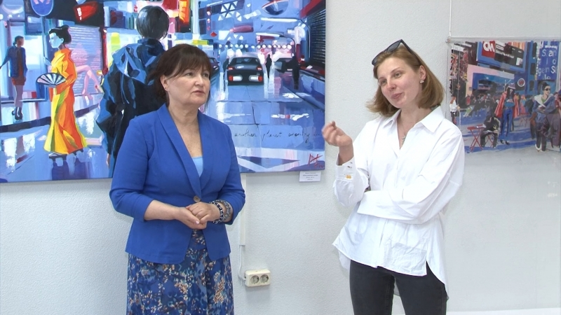 Персональная выставка Марины Фёдоровой открыта в галерее Арт-холл
