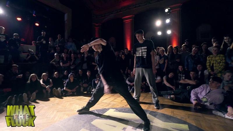 What The Flock vol.5   Hip-Hop 2x2 1/8 Irina S.N.CH. Dam'en vs Sofa Shaman