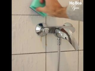 Mыльный налет в ванной Не проблема